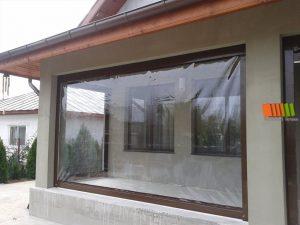 inchideri terase cu plastic transparent